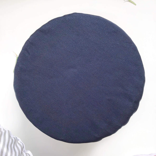 BLUSH, NAVY & GREY STRIPES | Bowl cover set of three
