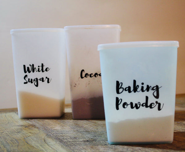 BAKING BASICS | Decal set