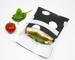 BLACK & WHITE POLKA DOTS | Sandwich Bag