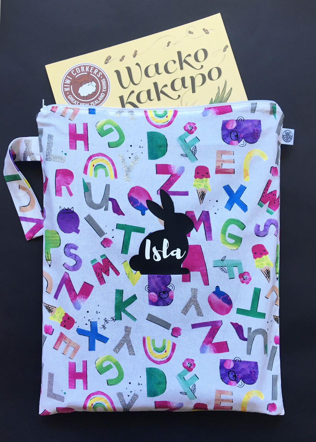 RAINBOW ALPHABET | Book Bag