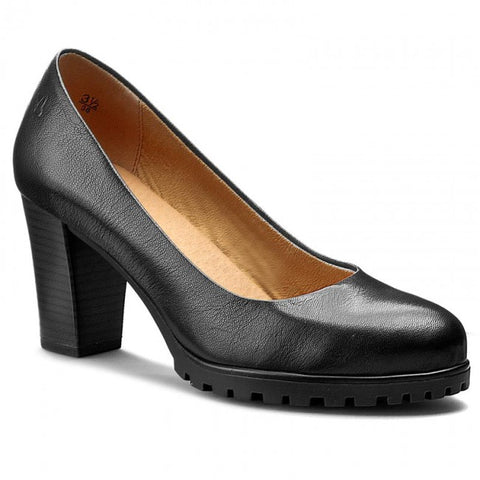 Caprice 22400 - black leather - Kirbys Footwear