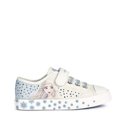 Geox Ciak frozen canvas - white