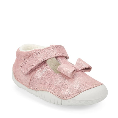 Start-Rite wiggle pre walker pink metallic