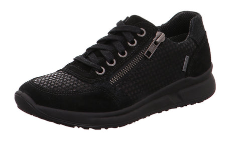 SuperFit Merida goretex black lace zip - Kirbys Footwear