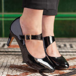 Lotus Laurana black patent - Kirbys Footwear