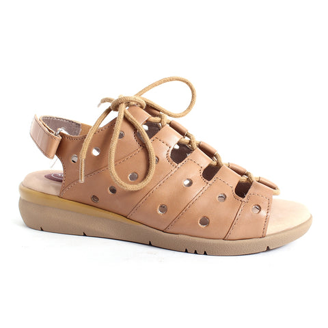 Jana sandal wide fit 28296 tan