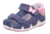 SuperFit closed sandal Navy/pink