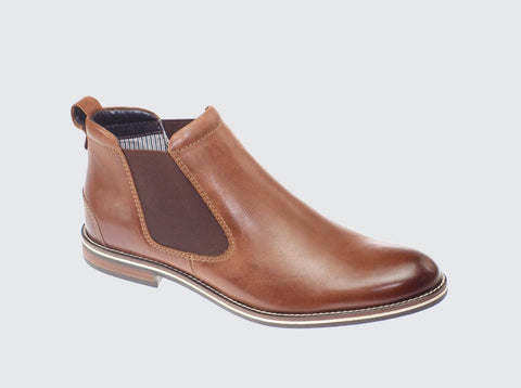 Dubarry Sabin gusset boot tan - Kirbys Footwear