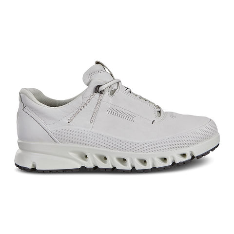 Ecco multi vent goretex waterproof trainer - white