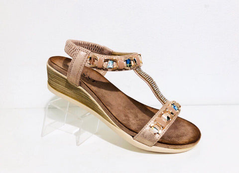Susst Ellie gold - Kirbys Footwear
