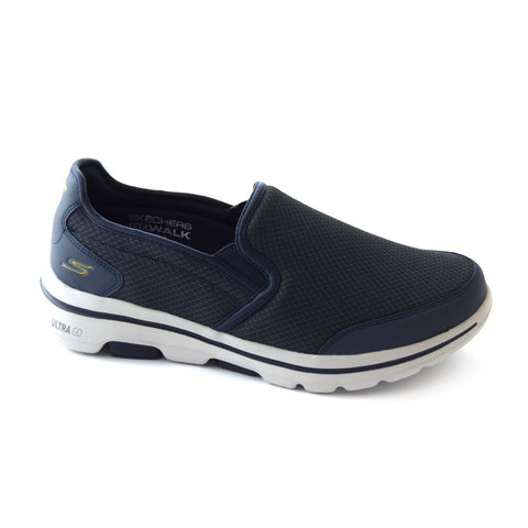 Skechers go walk navy - Kirbys Footwear