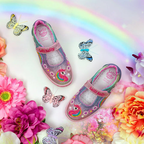 Lelli Kelly unicorn strap - Kirbys Footwear