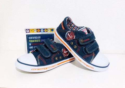 Pablosky canvas navy - Kirbys Footwear