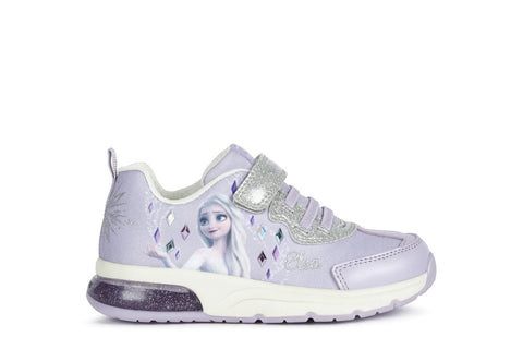 Geox spaceclub frozen lilac - lights