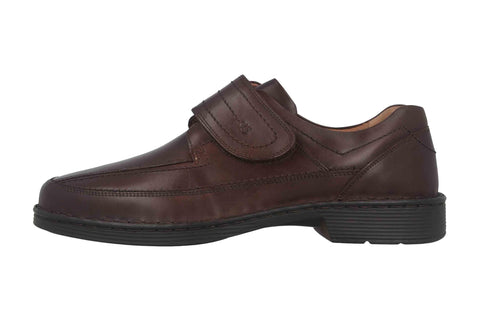 Josef Seibel Bradfjord velcro brown leather - wide fit