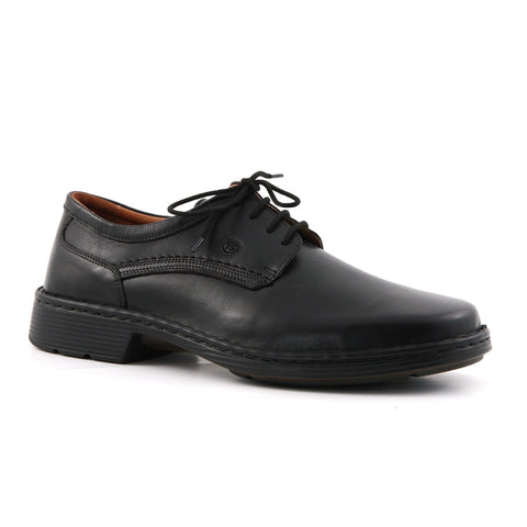 Josef Seibel Talcott black leather - wide fit
