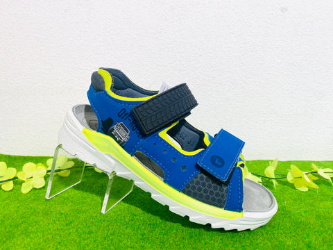 Ricosta Road sandal - blue