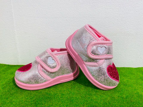 Lunar heart slipper