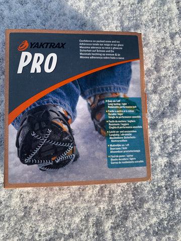Yaktrax Pro snow and ice grips