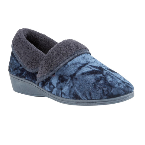 Lotus Doris slipper navy