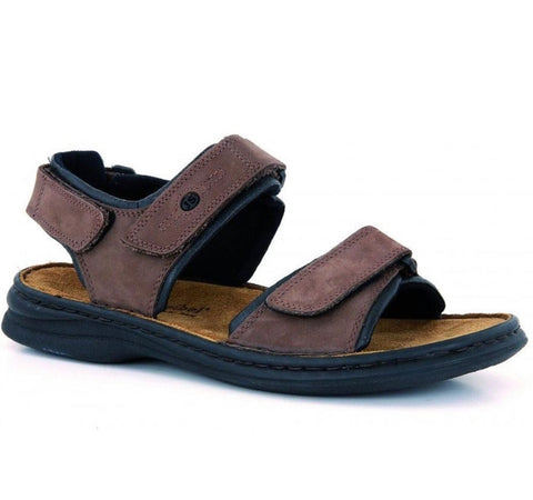 Josef Seibel Rafe sandal brown - Kirbys Footwear