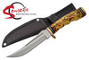 (A176) CLIP POINT HUNTING KNIFE
