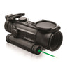 TruGlo Tru-Tec Red-Dot 30mm Sight-Green Laser Box