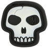 Maxpedition Moral Patch Mini Skull 0.875 x 0.875 in