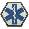 Maxpedition Morale Patch SWAT Medic Gladii 2.31 x 2.0 in