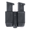 Blackhawk Double Mag Case Double Stack Black Carbon Fiber