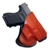 Tagua Spring XD Com Rotating Open Top Paddle Holster Brown