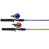 Zebco 101 Spincast Combo 5ftML    2pc Asst Red/Blue  101C
