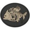 Maxpedition Moral Patch Glow in the Dark Piranha Bones