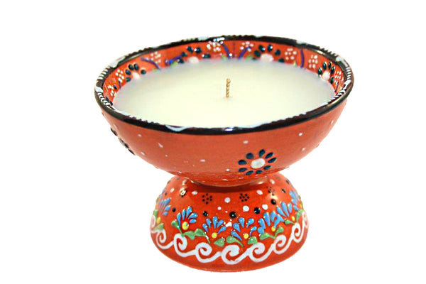 Medium Candle with Stand TURKISH COFFEE