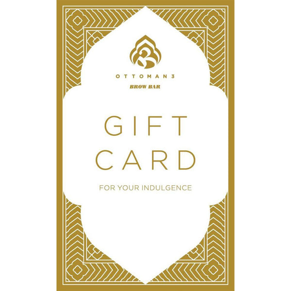 Gift Card - Brow Service