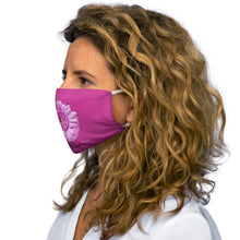 Load image into Gallery viewer, FAITH, HOPE , LOVE PINK Snug-Fit Polyester Face Mask