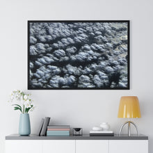 Load image into Gallery viewer, Above Lake Michigan Framed Poster Premium Framed Horizontal Poster