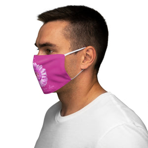 FAITH, HOPE , LOVE PINK Snug-Fit Polyester Face Mask