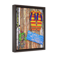"Load image into Gallery viewer, ""Irie"" Vertical Framed Premium Gallery Wrap Canvas"
