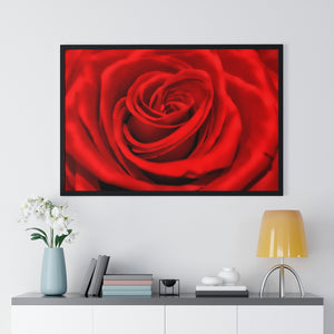 Passion Premium Framed Horizontal Poster