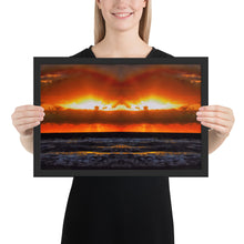 Load image into Gallery viewer, Hollywood Beach Sunrise Framed poster