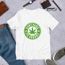 Load image into Gallery viewer, ORGANIC Cannabis Short-Sleeve Unisex T-Shirt