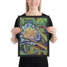 Load image into Gallery viewer, Deep Peony Framed poster