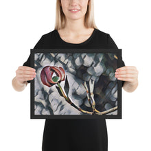 Load image into Gallery viewer, Painted Dogwood Tree Bloom Framed poster