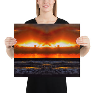 Hollywood Beach Sunrise Poster