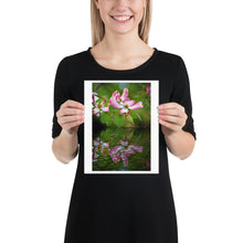 Load image into Gallery viewer, Dogwood Tree Blossom in Reflection Poster