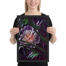 Load image into Gallery viewer, Peony Secrets Framed poster
