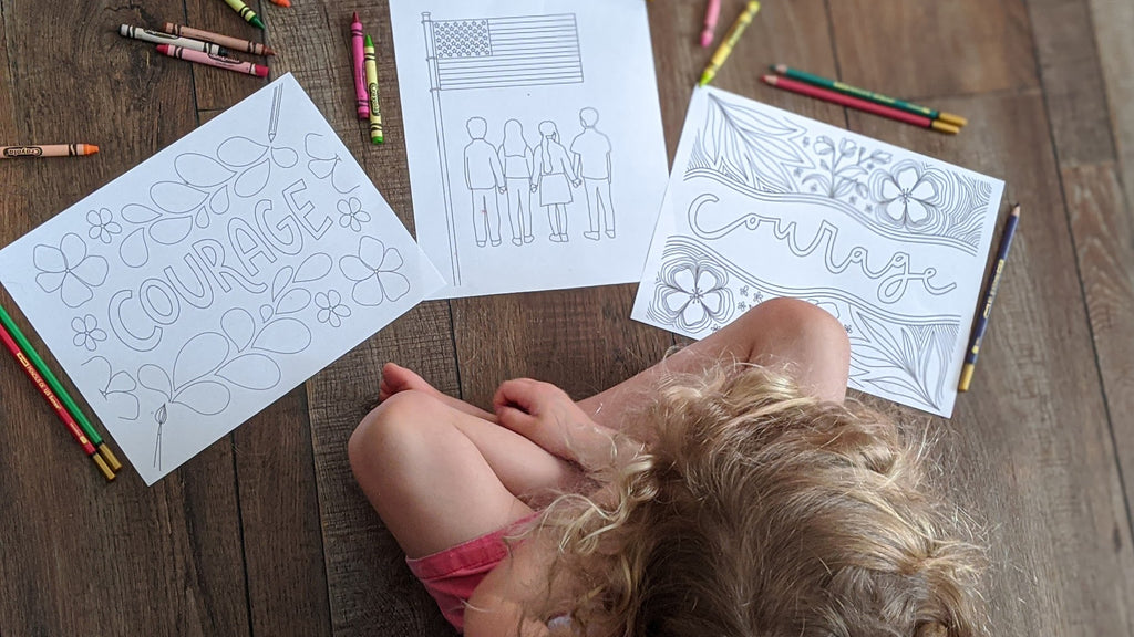 Download Your Month of the Military Child Coloring Sheets — Legacy Kids