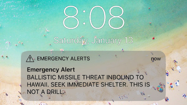 The Hawaii Missile Scare - Four Personal Accounts