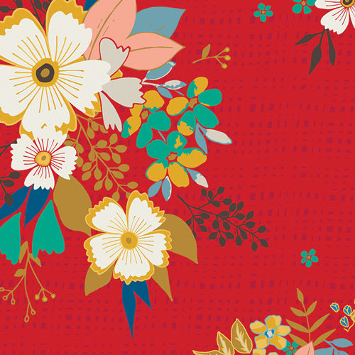 Lucky Franklin Summer Floral Print